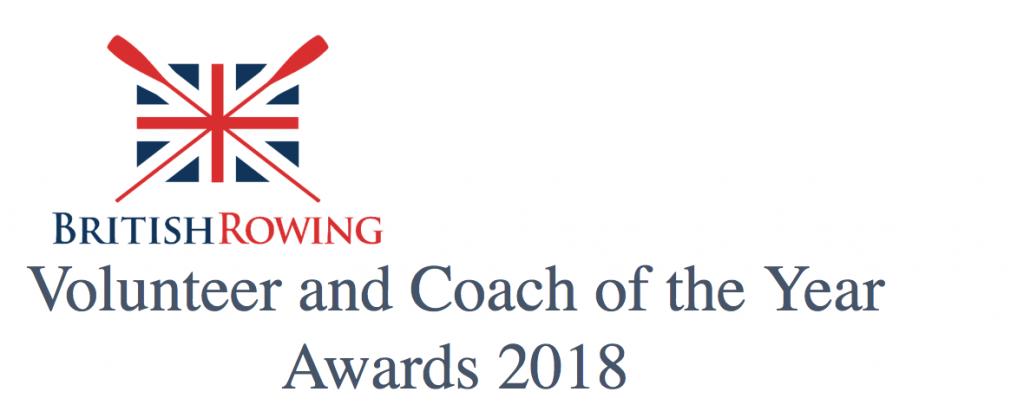 Volunteer Coach Awards 2018