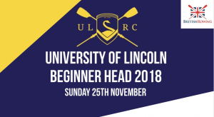 University of Lincoln Beginner Head @ Lincoln Rowing Centre