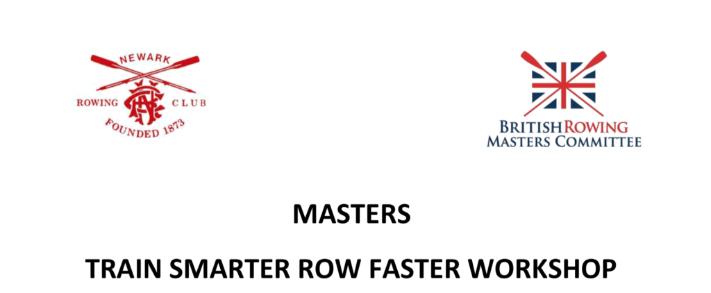 Masters' Train Smarter Row Faster Workshop.