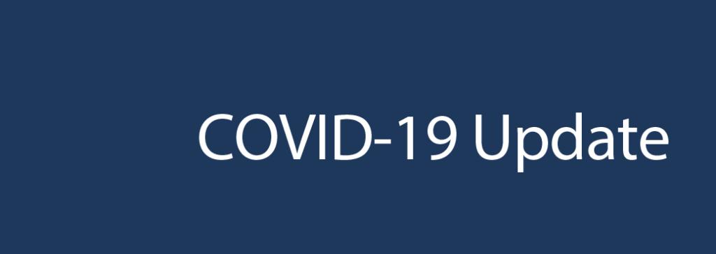 COVID-19 Update  (03.11.20)